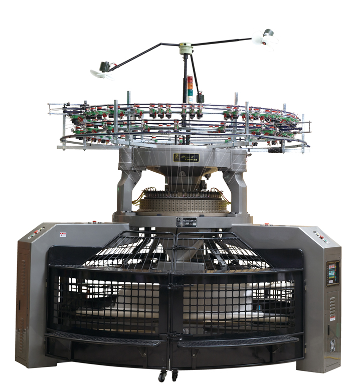 Knitting Machines : Double circular knitting machine